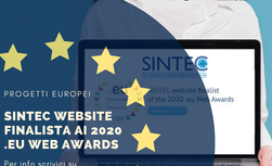 Progetto SINTEC finalista ai 2020 .eu Web Awards! - Warrant