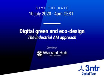 Digital green and eco-design: the industrial AM approach - Warrant