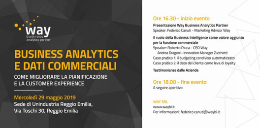 Business Analytics e dati commerciali - Warrant